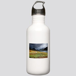 Wastwater storm clouds Water Bottle