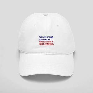 We have enough gun control Baseball Cap