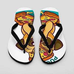pugzza Flip Flops