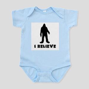 I Believe in Sasquatch Body Suit