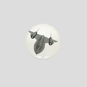 SR-71 Blackbird Mini Button
