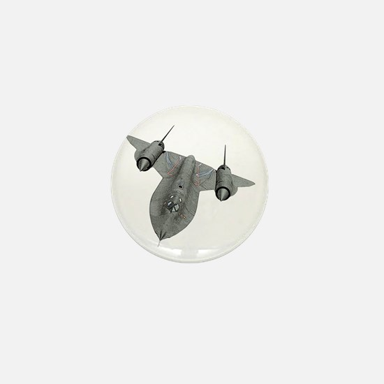 SR-71 Blackbird Mini Button