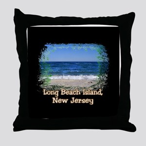 LBI Oceanside... Throw Pillow