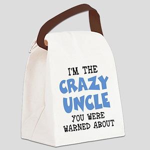 Crazy Uncle Canvas Lunch Bag