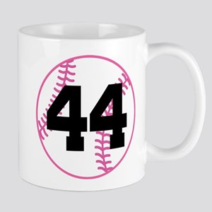 Softball Player Number 44 Mug
