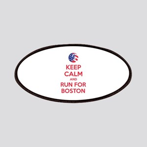 Keep calm and run for Boston Patches