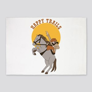 Happy Trails 5'x7'Area Rug