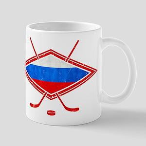Russian Ice Hockey Flag Mug