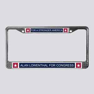 Elect Alan Lowenthal License Plate Frame