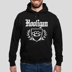 Irish Hooligan Brass Knuckles Crest Hoodie