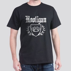 Irish Hooligan Brass Knuckles Crest T-Shirt