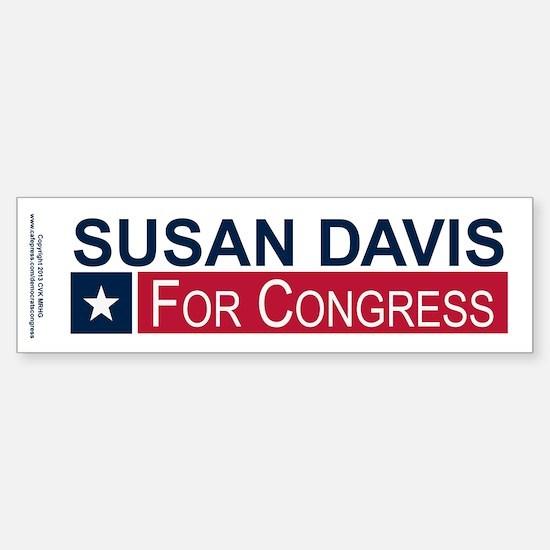 Elect Susan Davis Sticker (Bumper)