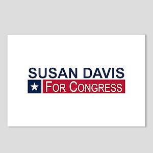 Elect Susan Davis Postcards (Package of 8)