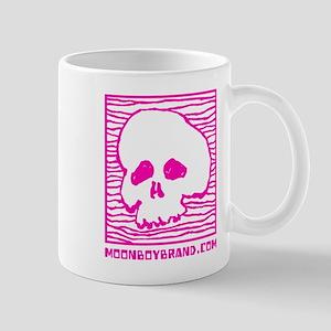 """Pink Skull"" by Moonboybrand.com Mug"