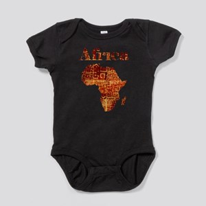 Ethnic Africa Baby Bodysuit