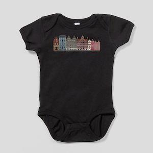 Amsterdam Holland Baby Bodysuit