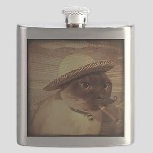 Gato w/Cigar Flask