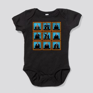 Presidential Squares Baby Bodysuit