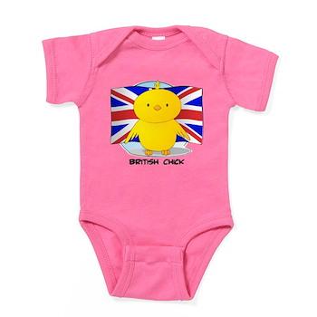 British Chick Baby Bodysuit