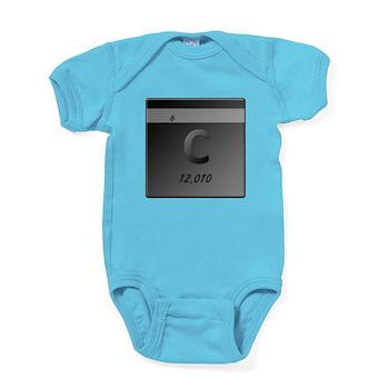 Carbon (C) Baby Bodysuit