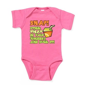 Stick that in your juicebox! Baby Bodysuit