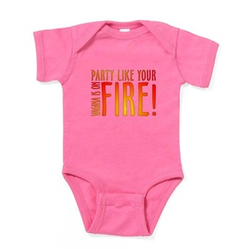 Party Like Your Vagina is on Baby Bodysuit