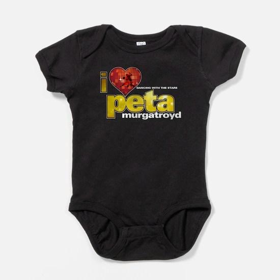 I Heart Peta Murgatroyd Baby Bodysuit