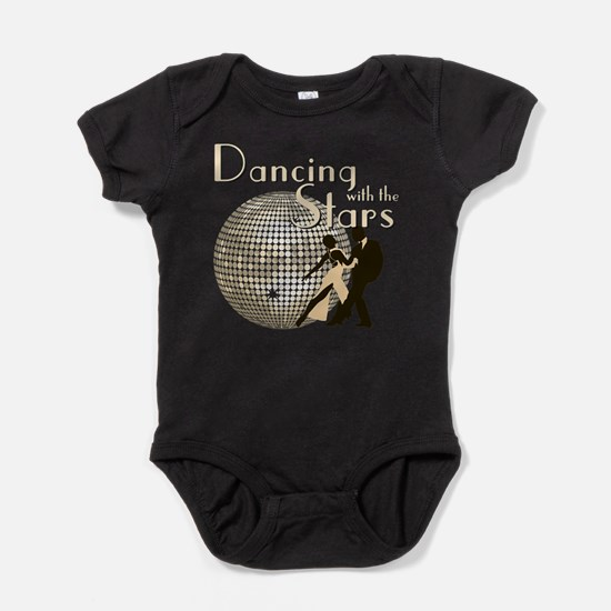 Retro Dancing with the Stars Baby Bodysuit