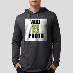 Add Easter Egg Hunt Photo Mens Hooded Shirt