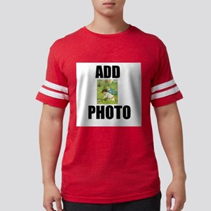 Add Easter Egg Hunt Photo Mens Football Shirt