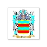 Breier Square Sticker 3
