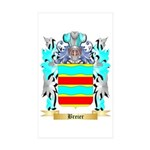 Breier Sticker (Rectangle 50 pk)