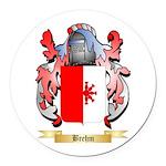 Brehm Round Car Magnet