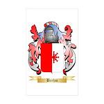 Brehm Sticker (Rectangle 50 pk)