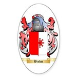 Brehm Sticker (Oval 50 pk)