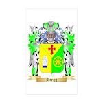 Bregg Sticker (Rectangle 10 pk)