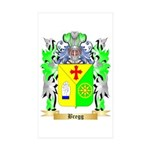 Bregg Sticker (Rectangle 50 pk)