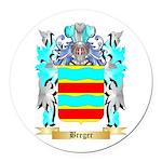 Breger Round Car Magnet