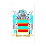 Breger Sticker (Rectangle 50 pk)