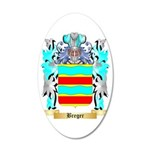 Breger 35x21 Oval Wall Decal