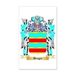Breger 35x21 Wall Decal