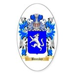 Breezley Sticker (Oval 50 pk)