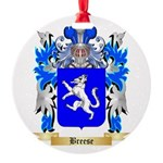 Breese Round Ornament