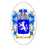 Breese Sticker (Oval)