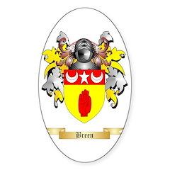 Breen Sticker (Oval)