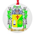 Breeger Round Ornament