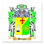 Breeger Square Car Magnet 3