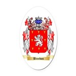 Breedon Oval Car Magnet