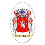 Breeden Sticker (Oval 50 pk)