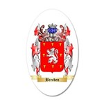 Breeden 20x12 Oval Wall Decal
